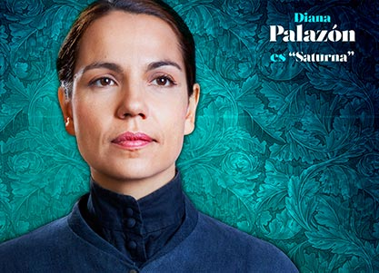 Diana Palazon interpreta a SATURNA