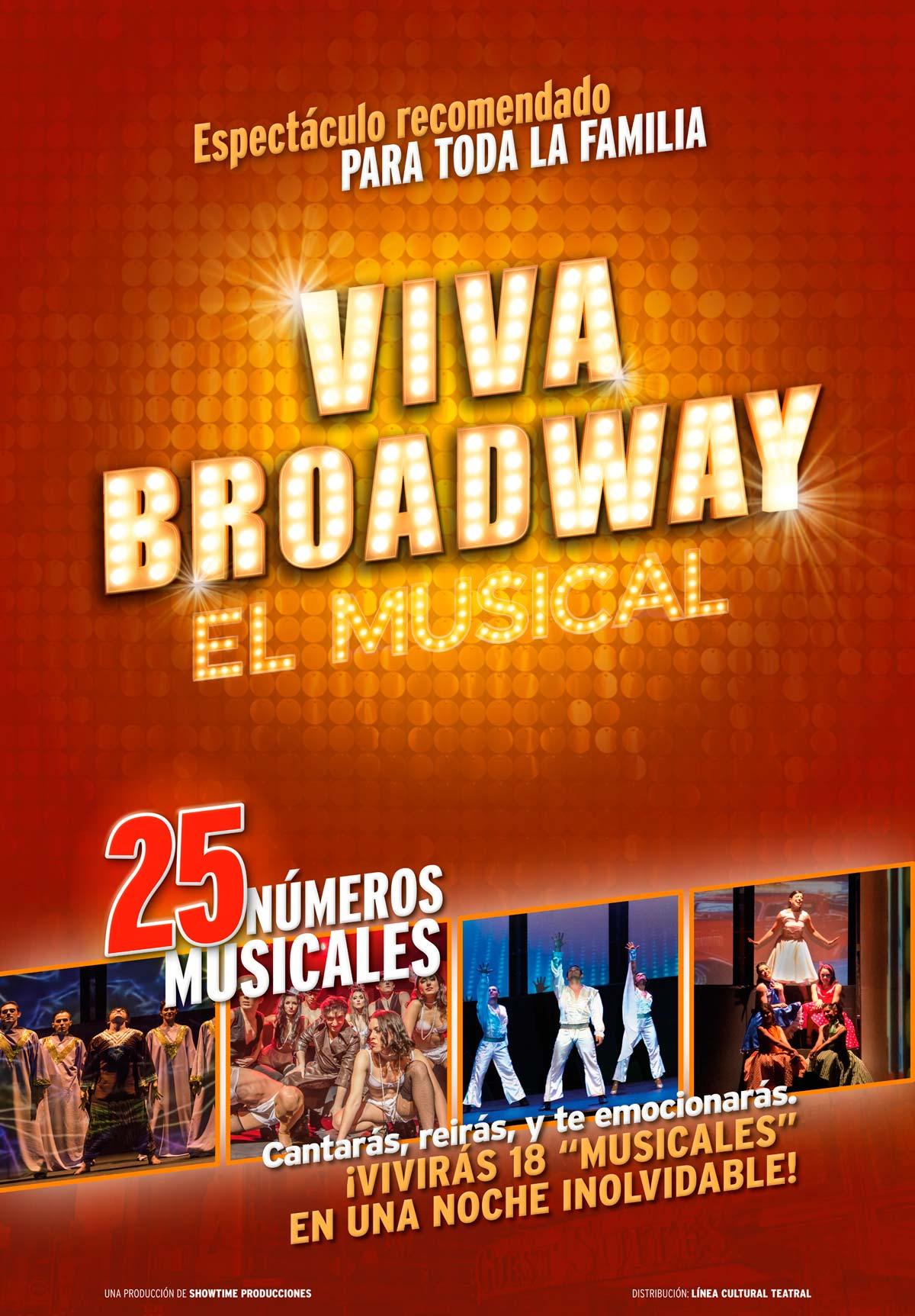 Viva Broadway - CARTEL